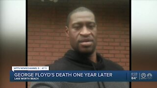 Palm Beach County leaders reflect 1 year after George Floyd's killing