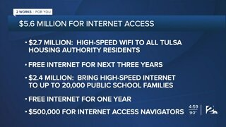 CARES Act funding internet access for families