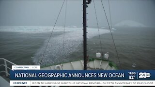 National Geographic adds 5th ocean to world map