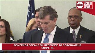 Press conference: Gov. DeSantis speaks about state's response to coronavirus