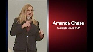 """Nominee Senator Amanda Chase """"I don't do COIVD"""""""
