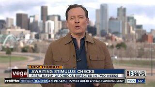 Awaiting stimulus checks