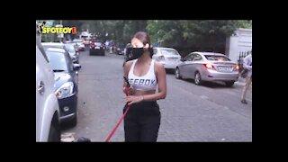 Malaika Arora, Sushmita Sen & Anil Kapoor Spotted in Bandra   SpotboyE