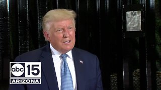 FULL INTERVIEW: ABC15 talks exclusively with President Trump