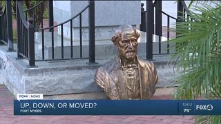 Fort Myers city council thinks over Robert E. Lee statue