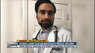 Woman claims doctor mishandled patient records