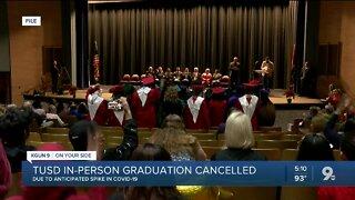 TUSD cancels in-person graduation ceremonies