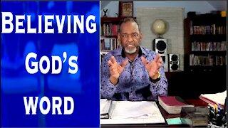 Believing God's Word