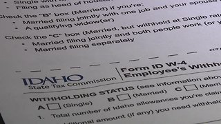 Idaho State Tax Commission releases Idaho W-4 form