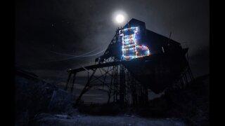 Mining Camp Christmas Displays 2017