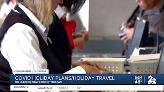 COVID-19 impacting holiday travel plans and get togethers