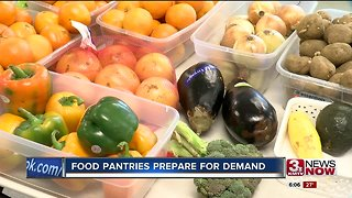 Food pantries prepare for demand