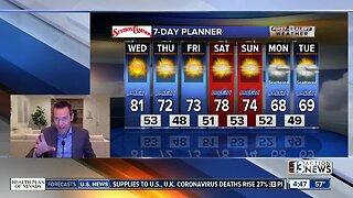 13 First Alert Las Vegas morning forecast | Apr. 1, 2020