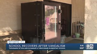 Elementary school turns campus vandalism into learning experience