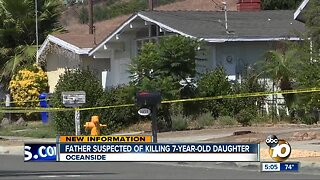 Father suspected of killing daughter