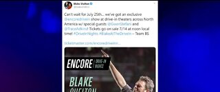 Blake Shelton announces drive-in theater concert
