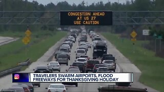 Nearly 2 million Michiganders expected to travel for Thanksgiving
