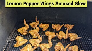 Slow Smoked Wings, Green Mountain Grills DB