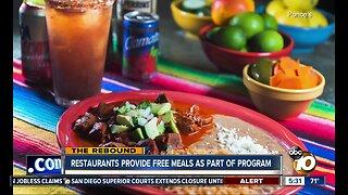 Restaurants to re-hire staff, serve free meals under program