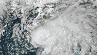 Tropical Storm Elsa Makes Landfall Along Florida Gulf Coast