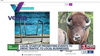 Local startup promoting events to drive traffic to local businesses