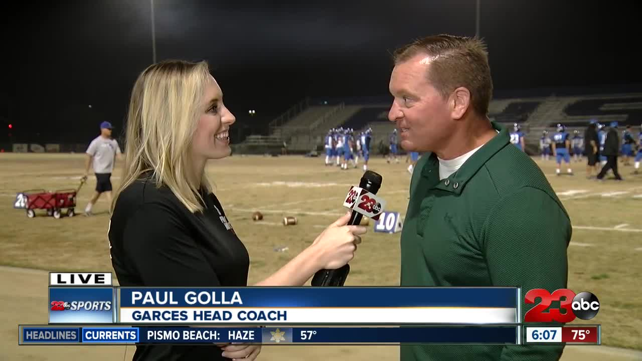FNL live interview with Garces Coach Paul Golla