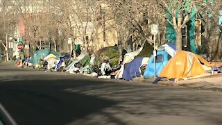 Homeless camp cleanup planned today in Denver
