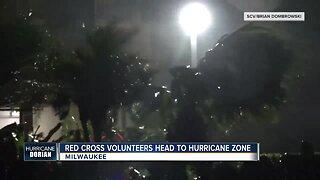Red Cross volunteers head to hurricane zone