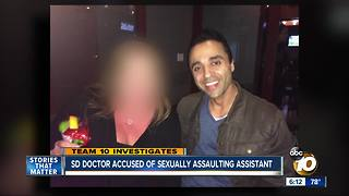 San Diego doctor accused of sexually assaulting assistant