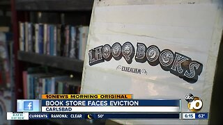 Book store owner seeks community help to avoid eviction