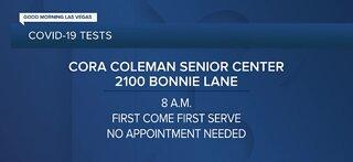 Cora Coleman Senior Center testing open