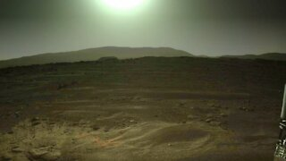 NASA's Perseverance Rover Captures Stunning Image of Sun From Mars