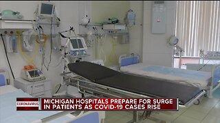 Michigan hospitals prepare for surge in patients