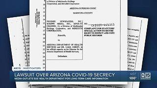 Lawsuit filed over Arizona COVID-19 secrecy