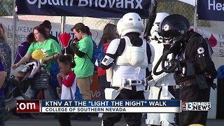 KTNV at the Light The Night Walk