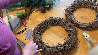 Super Easy Christmas Wreath