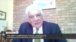 Trump campaign files lawsuits