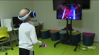 VR technology helping patients at Golisano Children's Hospital