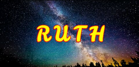 Word of God - Ruth - Book 08 - NIV