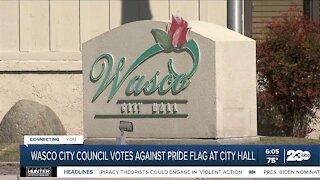 Wasco Mayor Alex Garcia discussed Pride flag decision