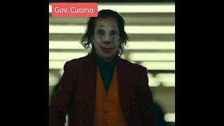 "Andrew Cuomo as ""The Joker """