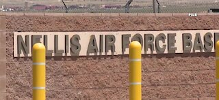 More noise at Nellis Air Force Base for the next few weeks