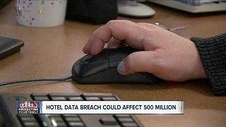 Hotel data breach could affect 500 million guests.
