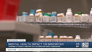 Mental health impact on minorities