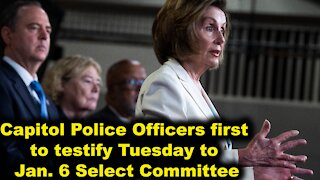 Capitol Police Officers first to testify Tuesday to Jan. 6 Select Committee - Just the News Now