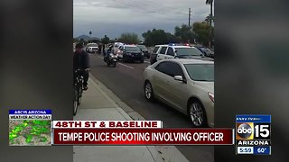 Tempe police involved in shooting Tuesday; suspect killed