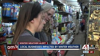 Winter impacting locally-owned KC businesses