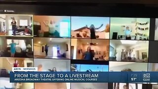 Valley theatre group offers online singing, dancing classes