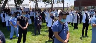 UNLV Health, Science students honor police brutality victims