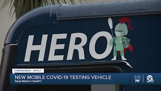 New mobile COVID-19 testing vehicle in Palm Beach County